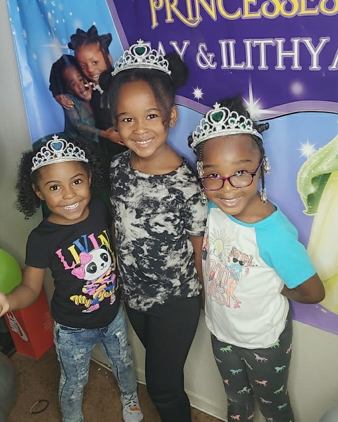 Princess Party Attendees