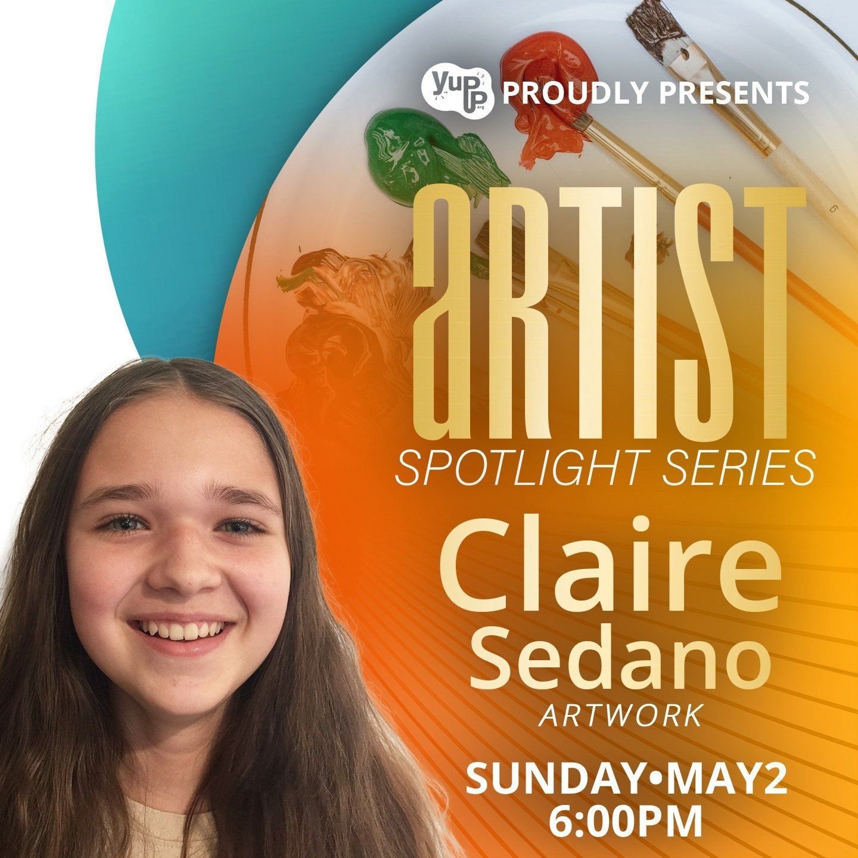Artist Spotlight Series – Claire Sedano